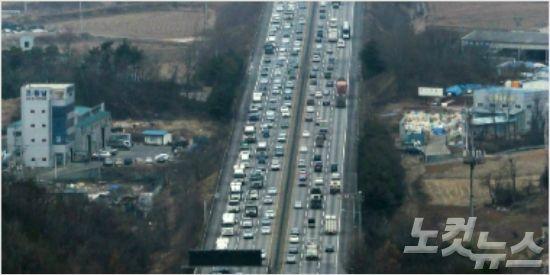 부산·경남 주요 고속도로 정체 이어져, 밤늦게 풀릴듯