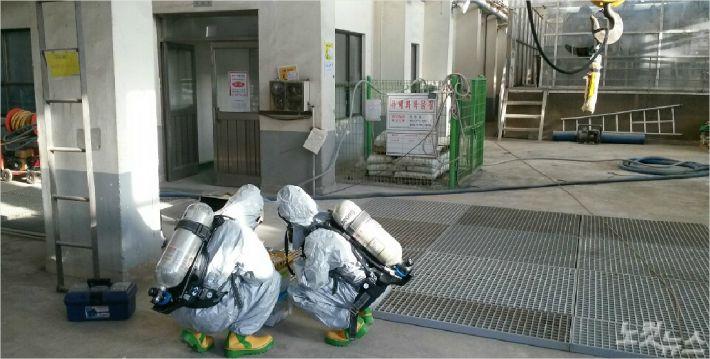고용노동부, 질식사고 발생 폐수처리업체 작업중지